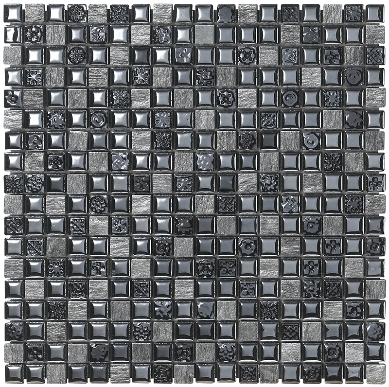 MEXICAL  NERO  Mosaico  30x30   BOXER