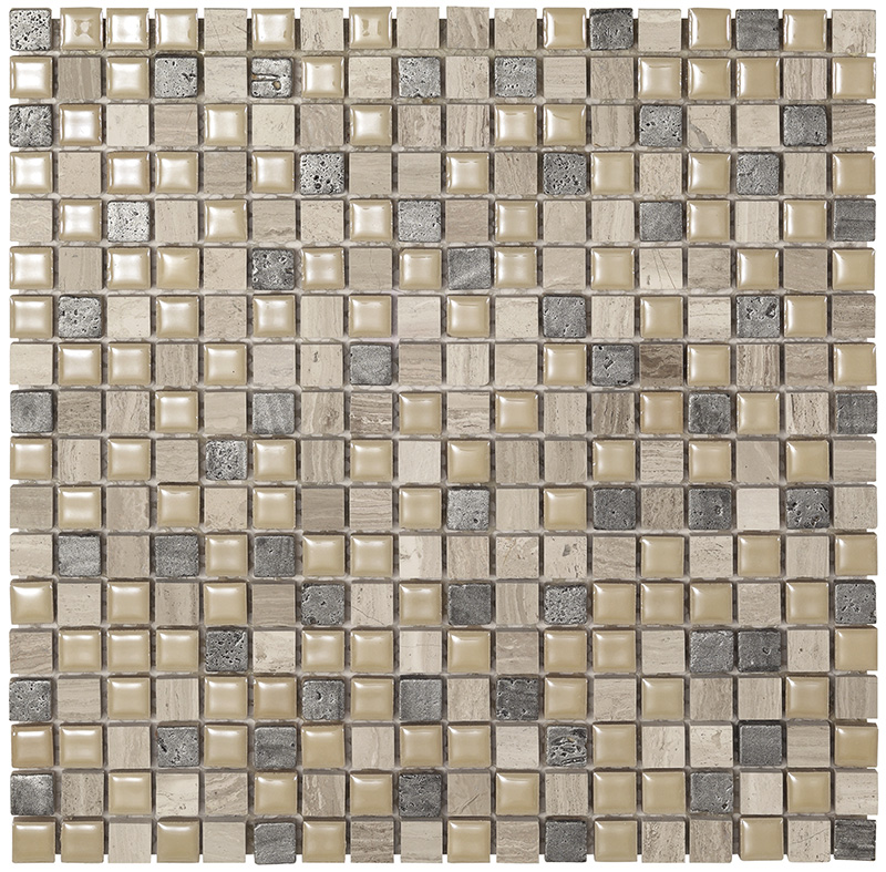 MEXICAL  Modern Wood Stone  Mosaico  30x30   BOXER
