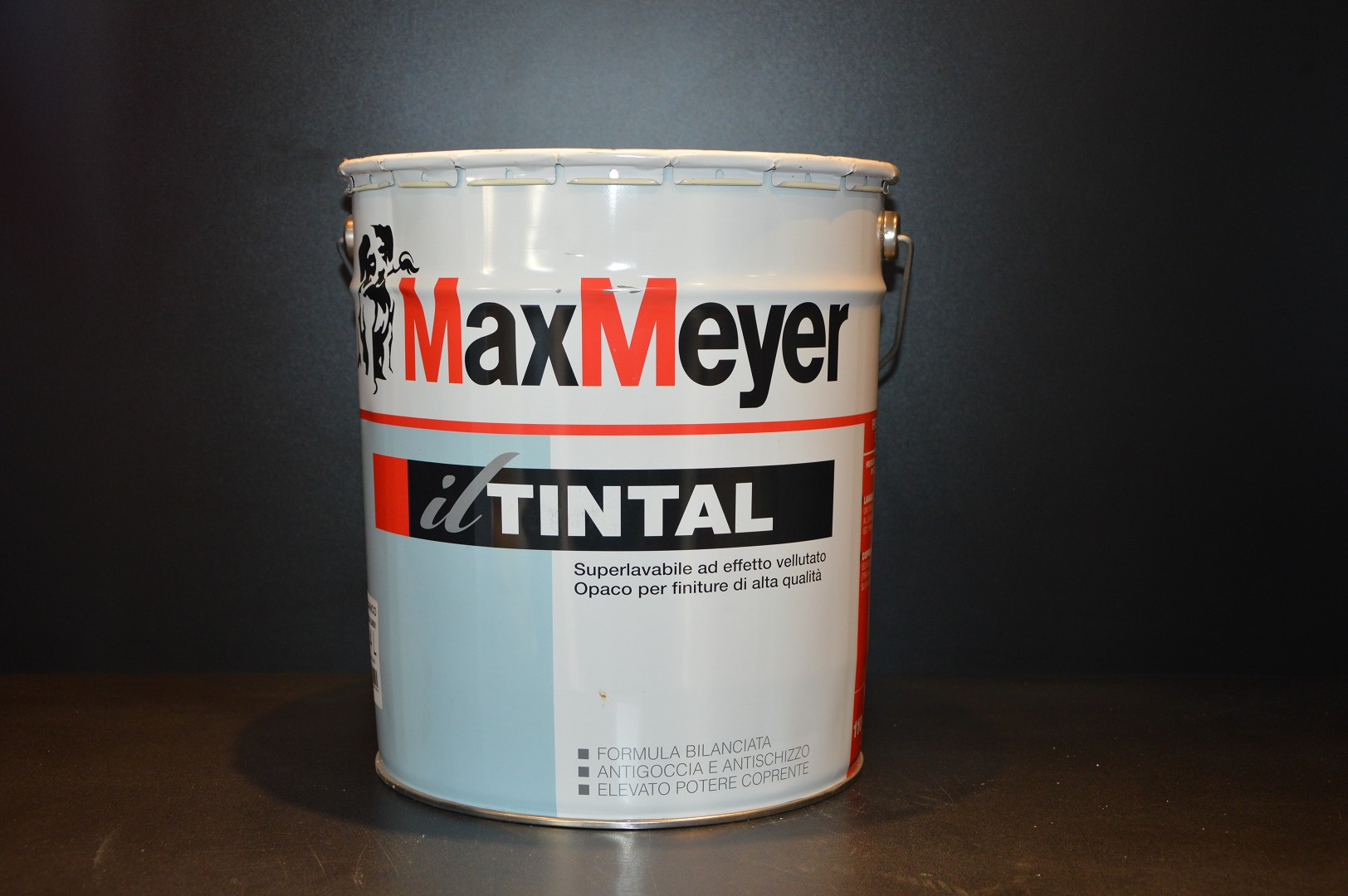 TINTAL 10 Lt.  Pittura Murale Superlavabile ad Effetto Velluto  MaxMeyer