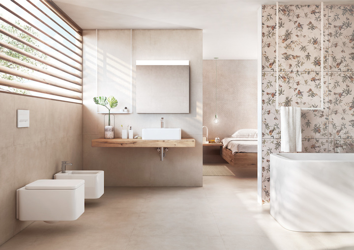 Dipingere piastrelle del bagno affordable with dipingere