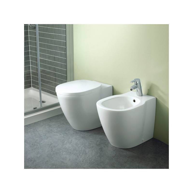 "CONNECT   Vaso+Coprivaso+Bidet   ""Filo Muro""      Ideal Standard"