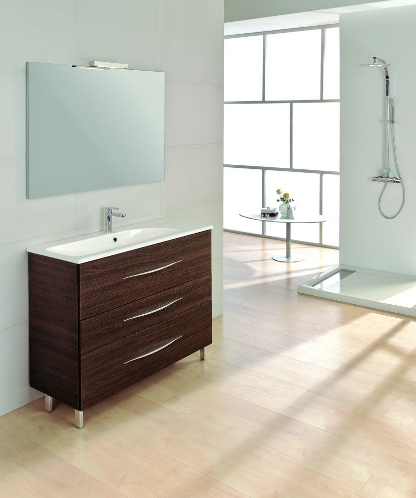 MAXIMUM 80  Mobile da Bagno cm.80  Wenge' Sabbiato   ROYO GROUP
