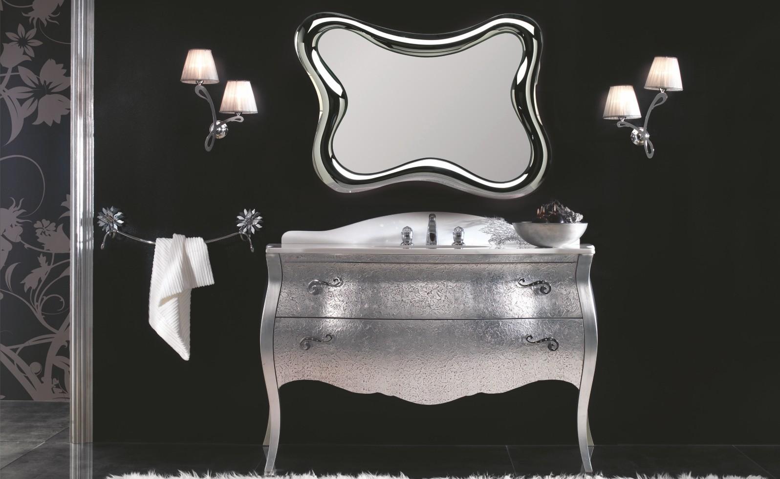 Arredo bagno foglia argento for Etrusca arredo bagno