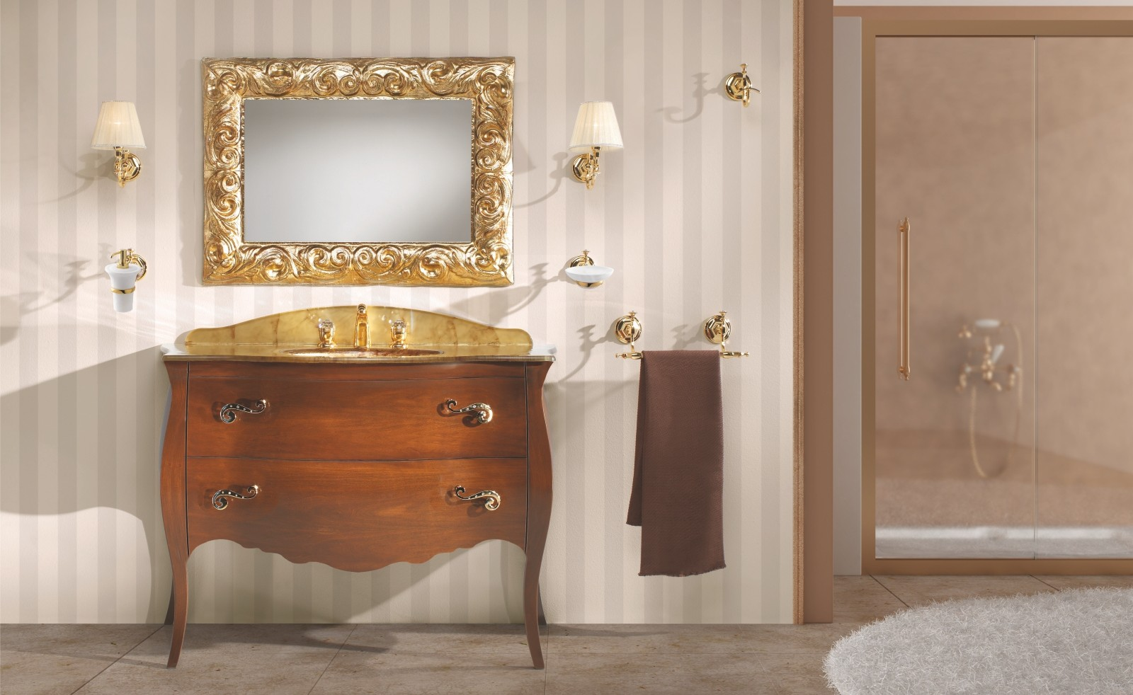 NEW LUXURY  Mobile da Bagno Noce   ETRUSCA