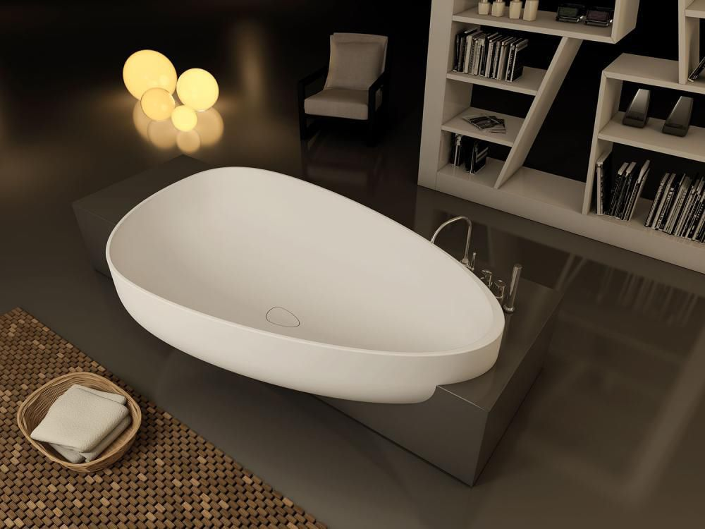 beyond bath  vasca in MineraLite GLASS