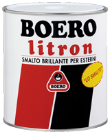 LITRON 0,75 Lt.  Smalto Brillante  BOERO