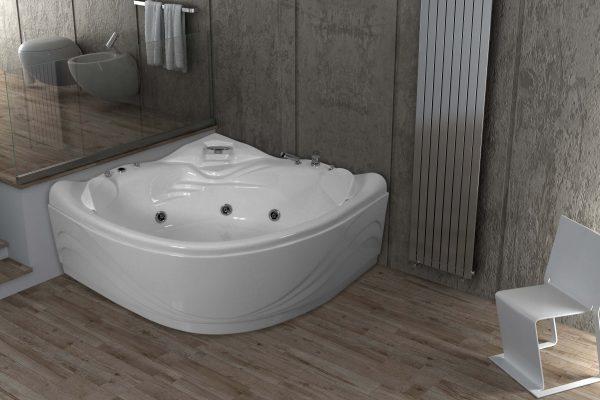 Vasca Da Bagno Harmony : Jetfun vasche da bagno vasche da bagno edilceramiche di maccanò
