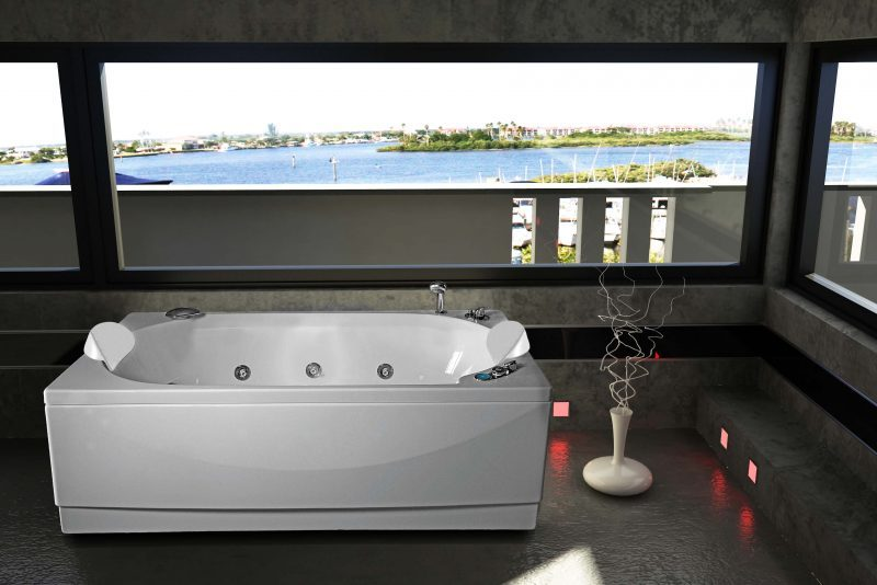 TRAMONTANA   Mini Piscina cm.185x95   Jet Fun