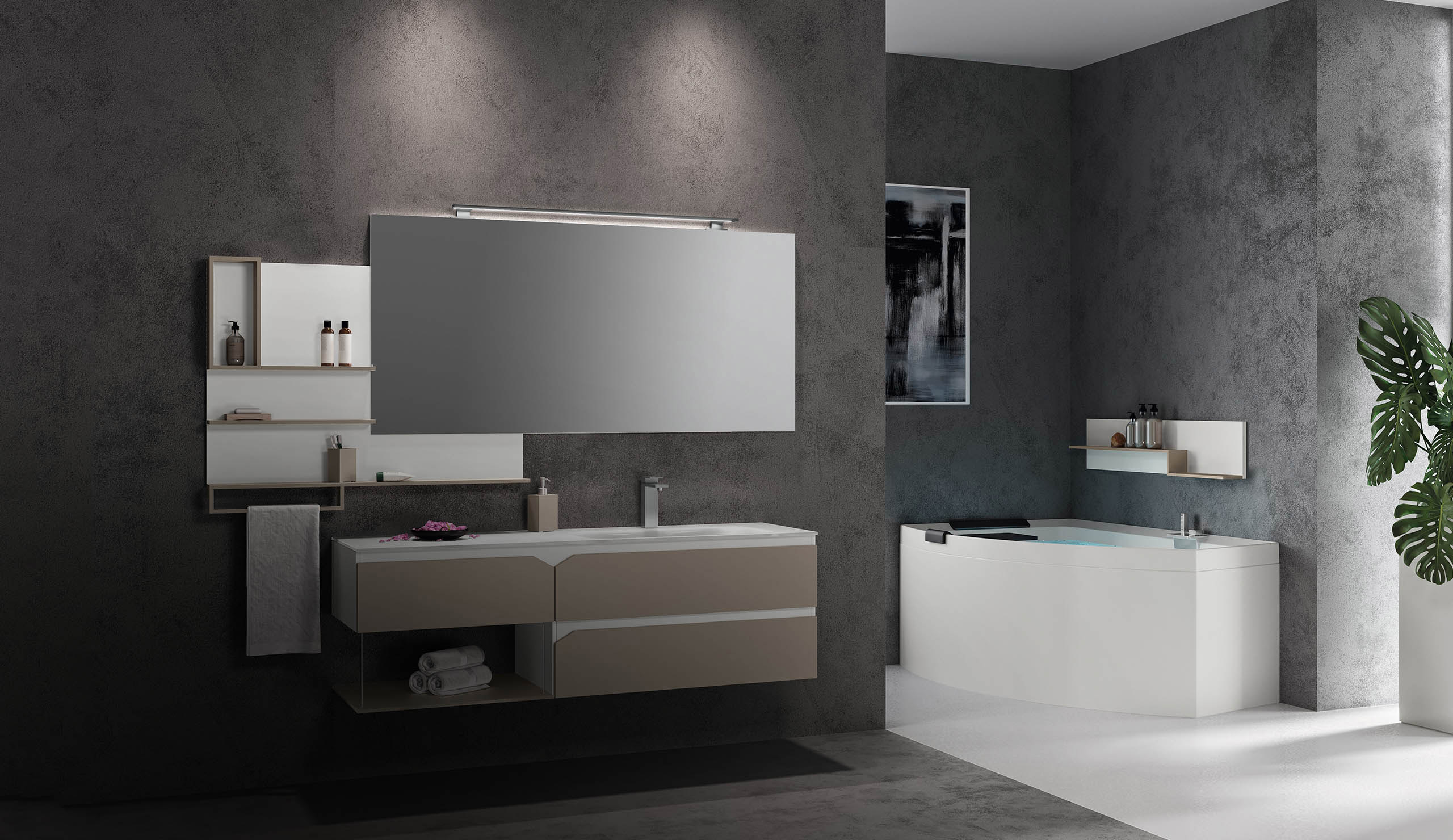 Vasca Da Bagno The Sims Mobile : Iotti mobili da bagno mobili da bagno edilceramiche di maccanò