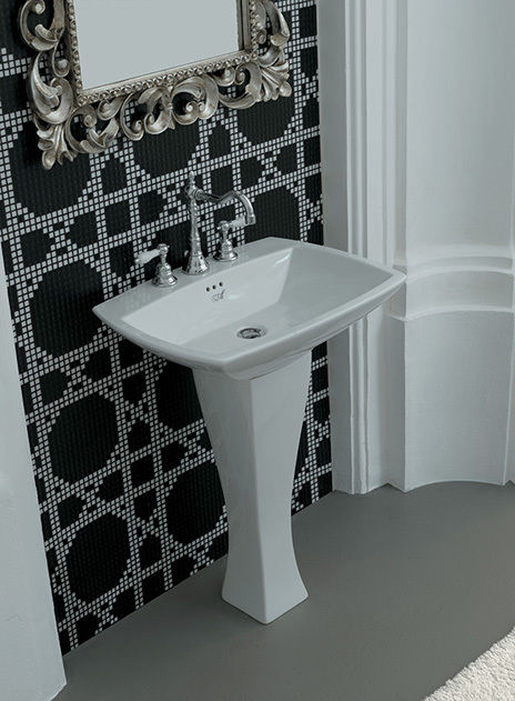 JAZZ   Lavabo cm.70x49+Colonna   THE.ARTCERAM