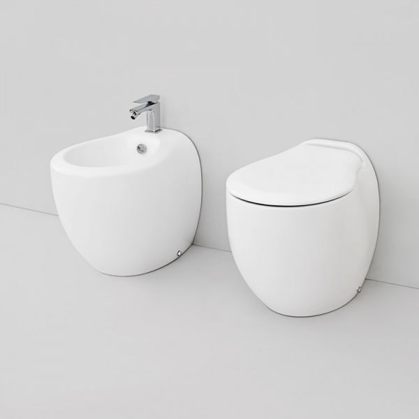 "BLEND     Vaso+Coprivaso ""frenante""  +Bidet       THE.ARTCERAM"
