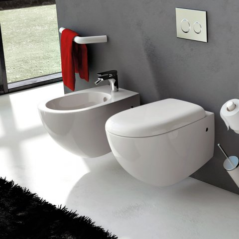 "FILE    Vaso+Coprivaso""SMART""+Bidet    Sospesi        THE.ARTCERAM"