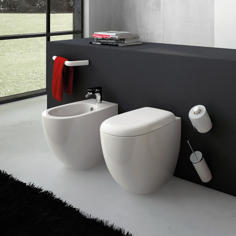"FILE Vaso+Coprivaso""SMART""+Bidet a Terra    THE.ARTCERAM"
