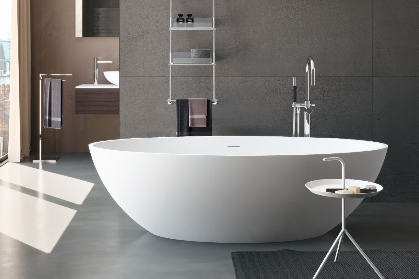 Vasche Da Bagno Angolari Treesse : Bagno con vasca angolare corporatebs