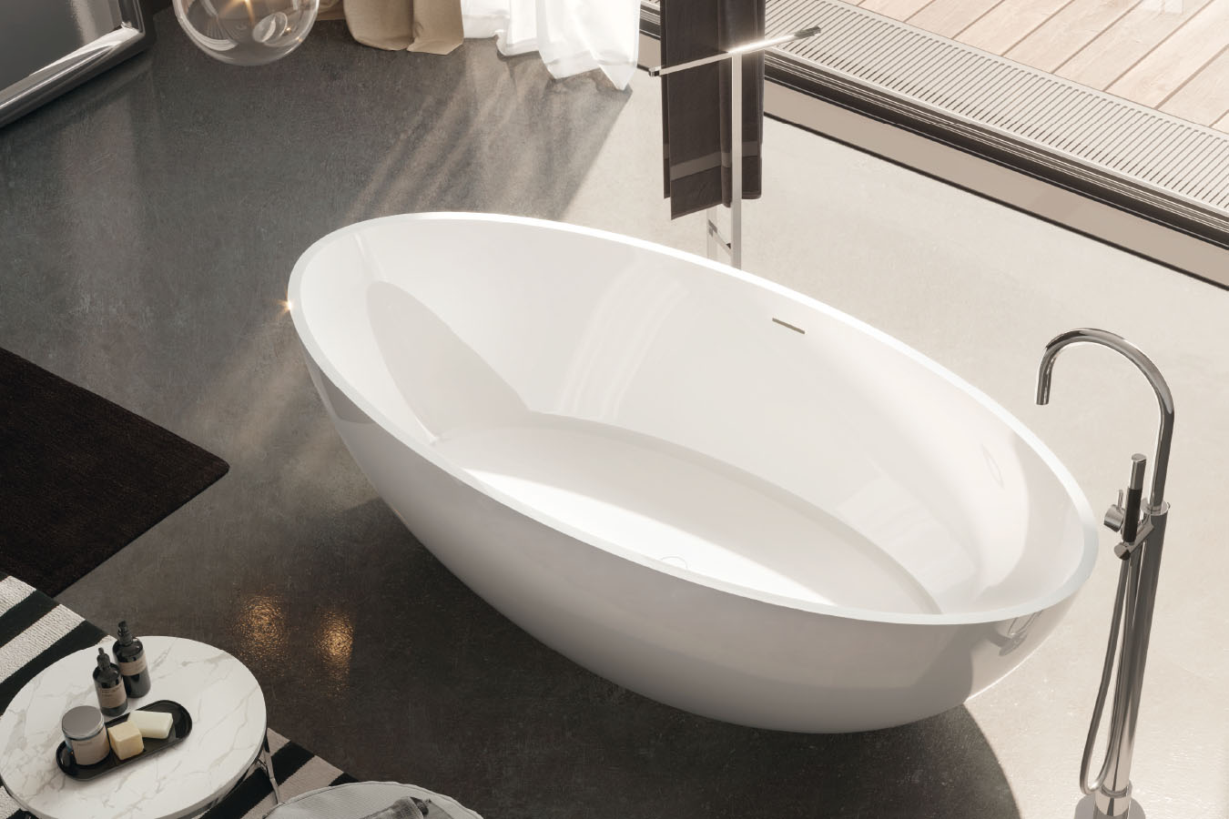 Vasche Da Bagno Angolari Treesse : Vasche da bagno e vasche idromassaggio gruppo treesse