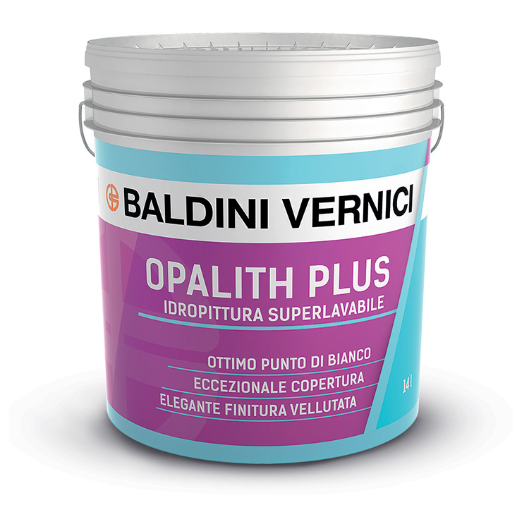 OPALITH PLUS   14Lt.     Pittura Murale   Superlavabile       BALDINI  VERNICI