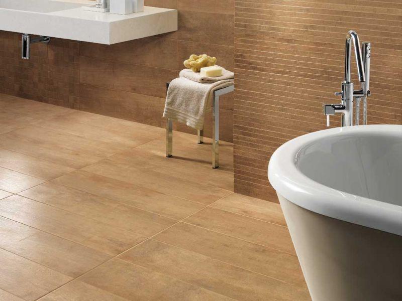 Piastrelle bagno effetto legno. latest morini ceramiche parma morini