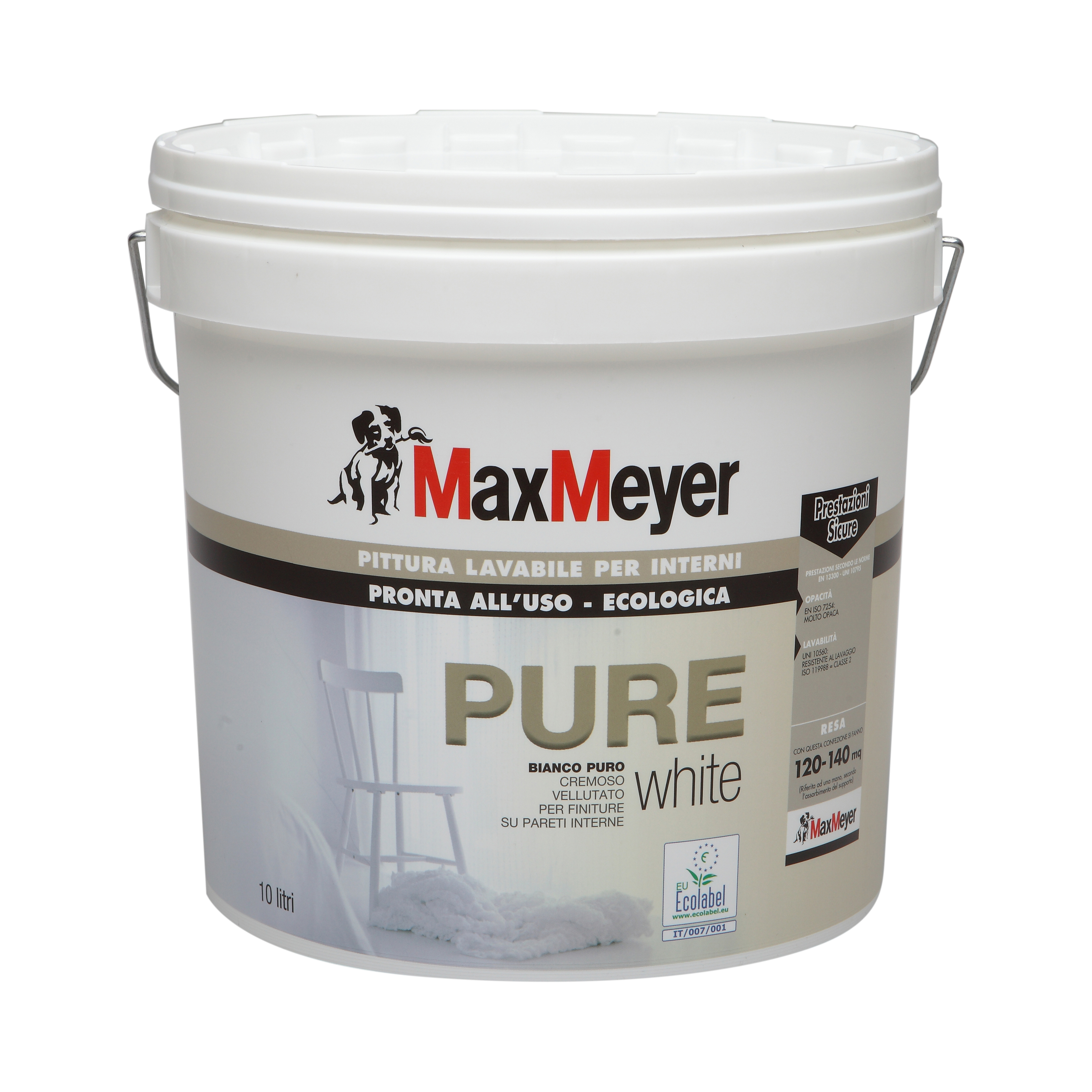 PURE  Pittura Murale ECOLOGICA  Max-Meyer