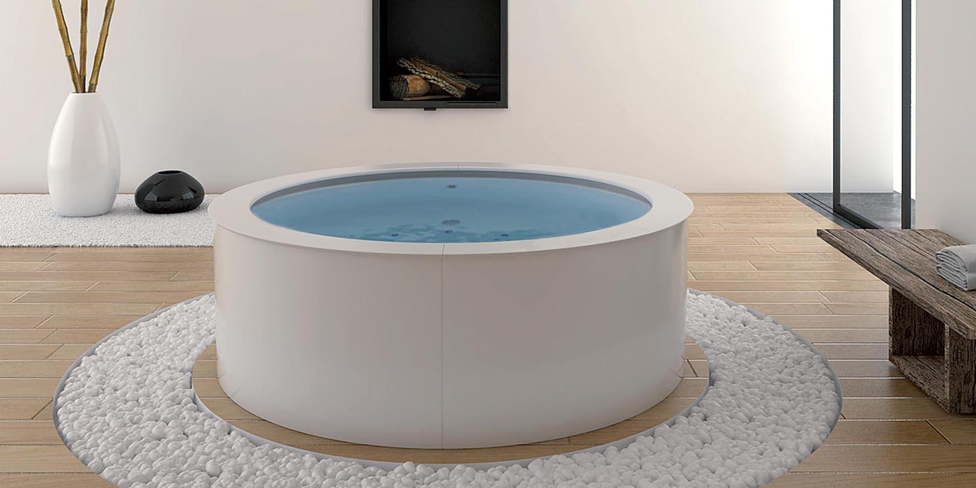 LA ROTONDA    Mini Piscina    cm.205   AQUAL
