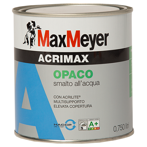 ACRIMAX  2,5Lt.   Smalto all'Acqua   Opaco   Max-Meyer