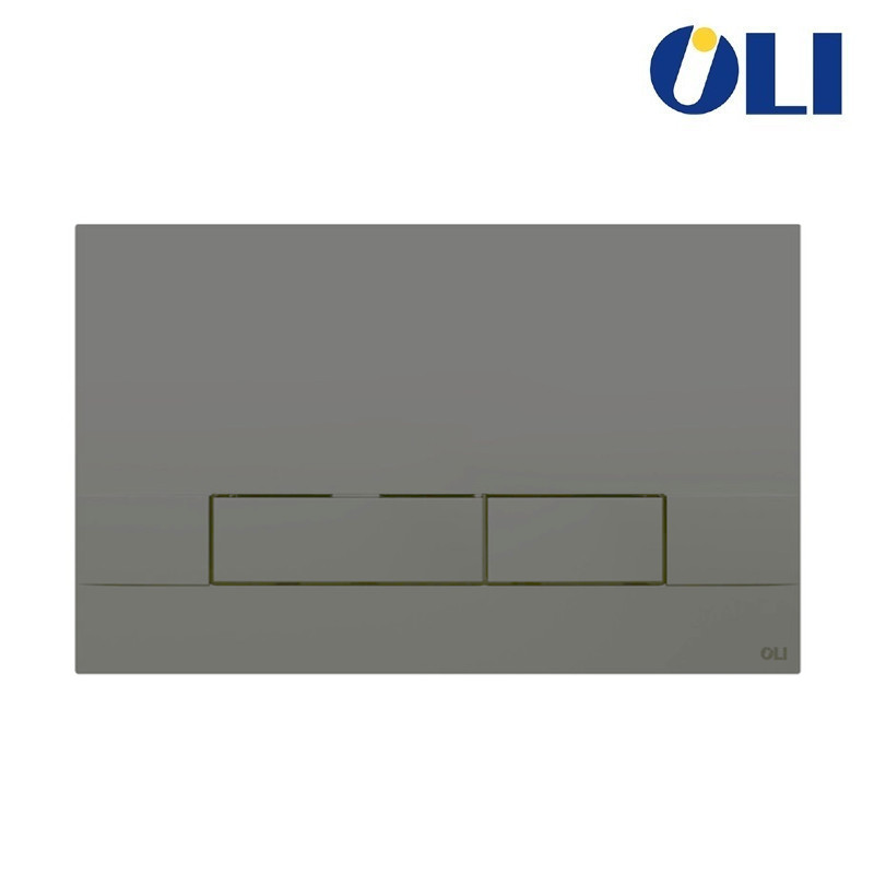 NARROW  OLI  PURE  Nero Soft-Touch      Placca  per Casseta Incasso  OLI