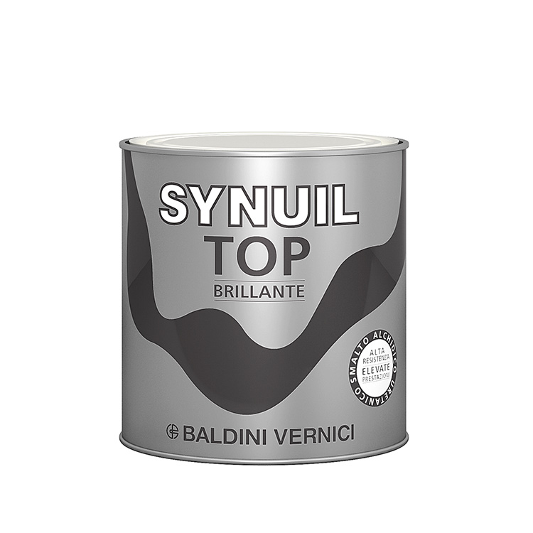 SYNUIL TOP    Brillante 0,75Lt.   Smalto all'Acqua  ad Alte Prestazioni   BALDINI  Vernici