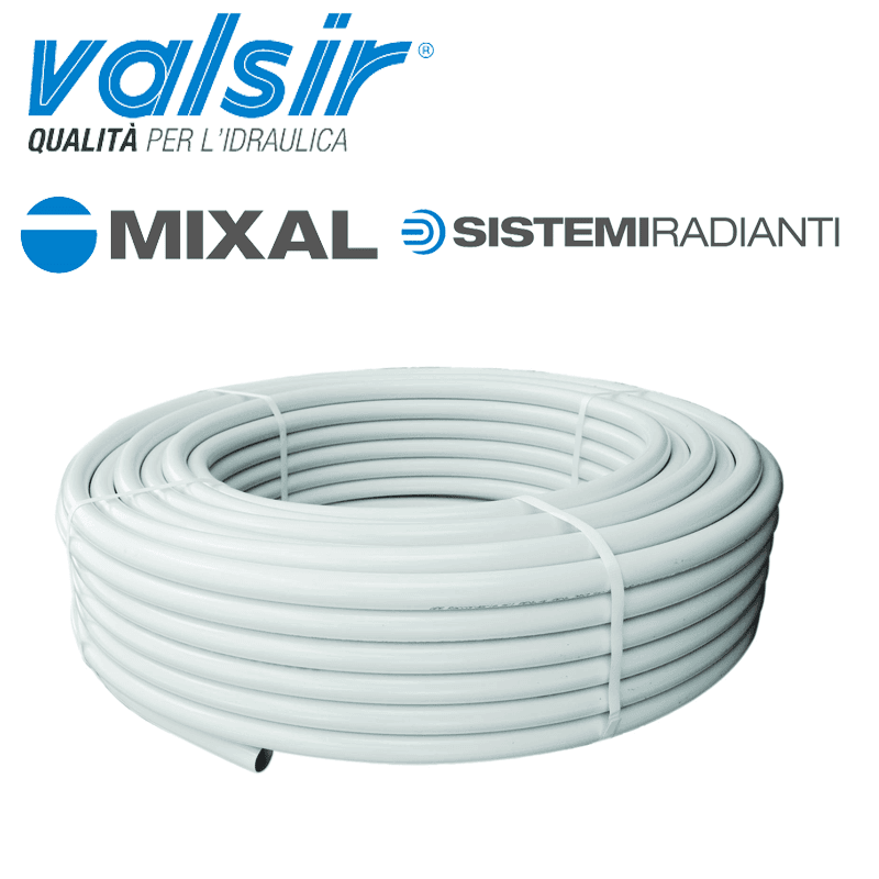 MIXAL   20x2,25  Tubo Multistrato     100mt.          VALSIR