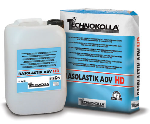 RASOLASTIK-ADV hd   Impearmeabilizzante Bicomponente  TECHNOKOLLA
