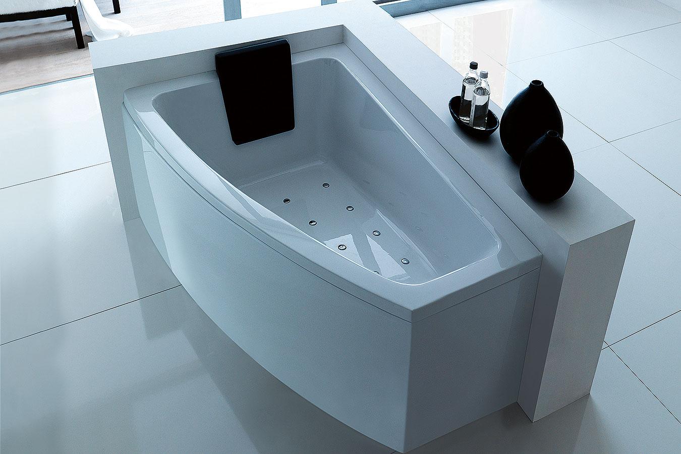 Treesse vasche vasche da bagno edilceramiche di maccan - Vasche da bagno asimmetriche 160x70 ...